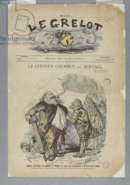 Citizen Gustave Courbet (1871)