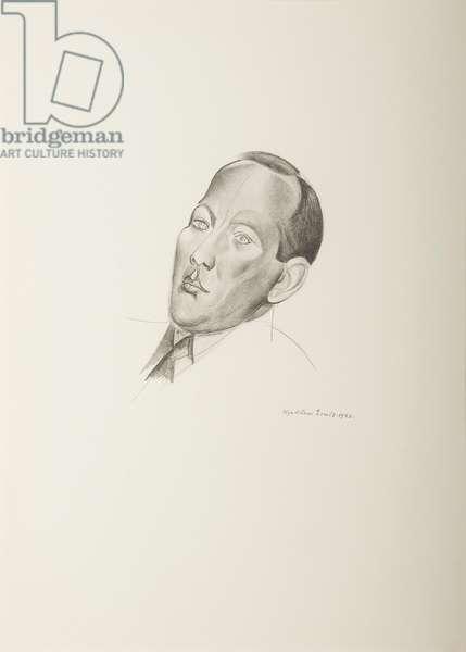 Noel Coward, 1932 (litho)