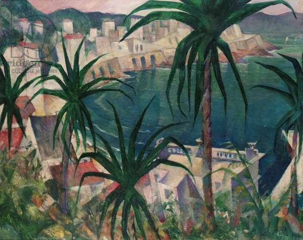 La Corniche, 1920 (oil on canvas)