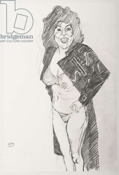 Aphrodite Girl II, 1991 (pencil on paper)