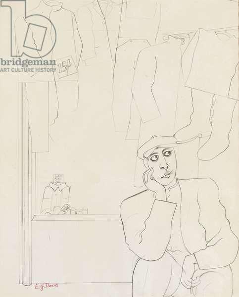 Second Hand, 1932 (pencil)