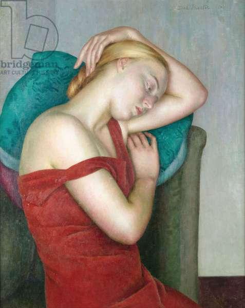 The Golden Girl, c.1930 (oil on canvas)