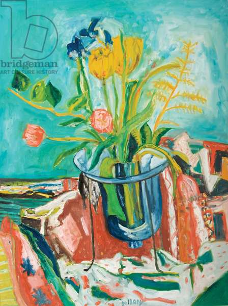 Summer Flowers, 1999 (oil on canvas)