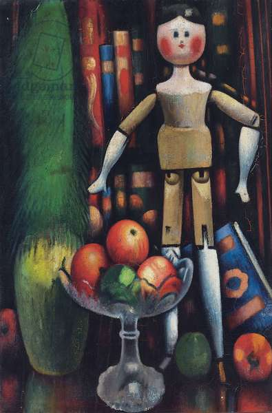 The Doll, 1914 (oil on canvas)