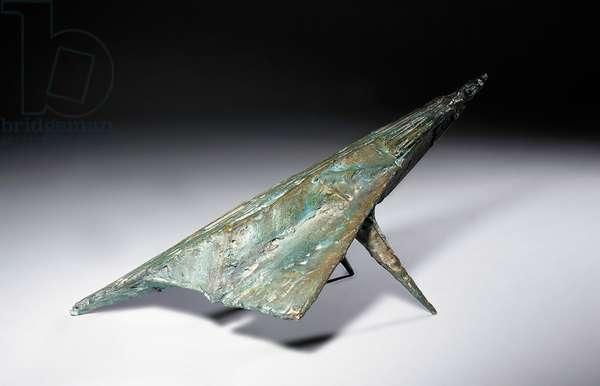 Bird IX, 1959 (bronze with a green-blue patina)