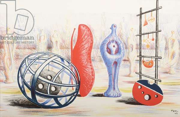 Sculptural Objects, 1949 (litho)