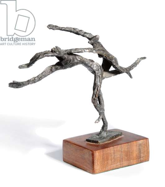The Pursuit of Ideas (small maquette), 1959 (bronze with a dark brown patina)