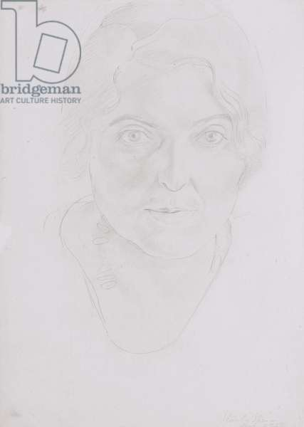 Portrait of Patricia Preece, 1929 (pencil on paper)
