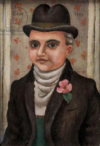 Portrait of a Gentleman, 1929 (oil on canvas)