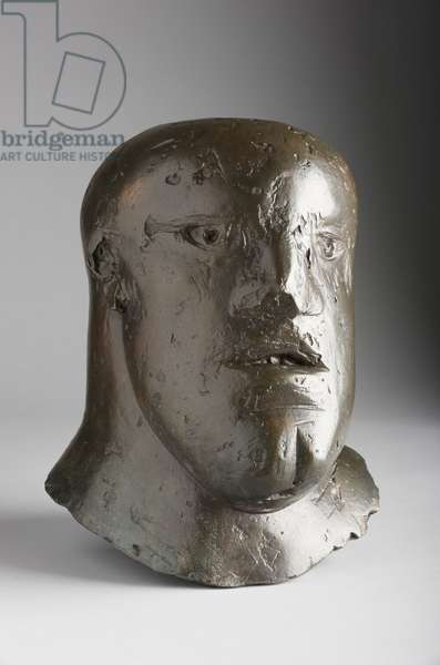 Soldier's Head II, 1965 (bronze with a brown patina)