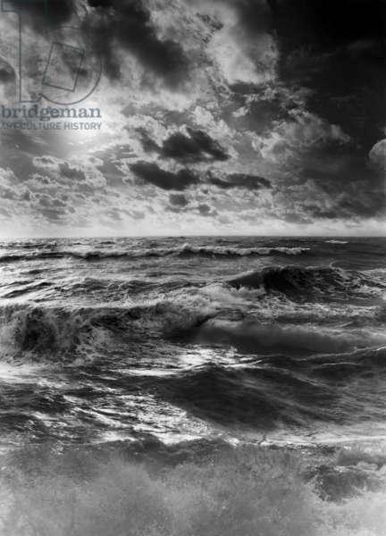Storm Force, 1993 (b/w photo)