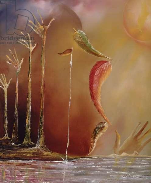 Earth Crisis, 2008 (oil on canvas)