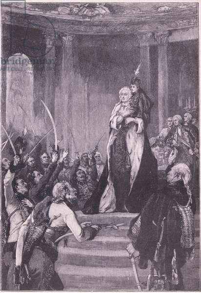 Maria Theresa and the Hungarian Parliament
