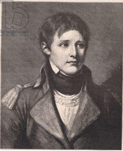Napoleon Bonaparte lieutenant of the artillery
