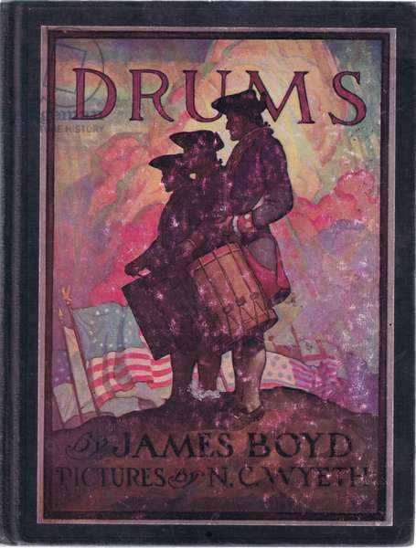 Front cover design, 1928 (colour litho)
