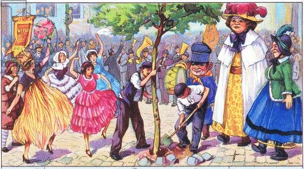 Liebig postcards, 1940's (colour litho)