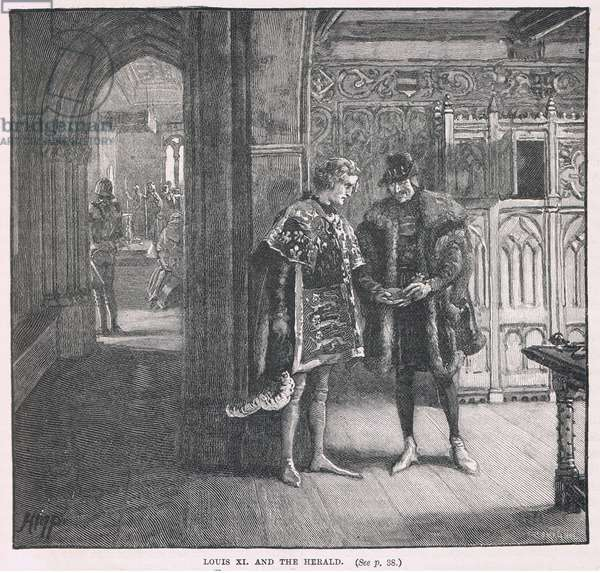Louis XI and the herald