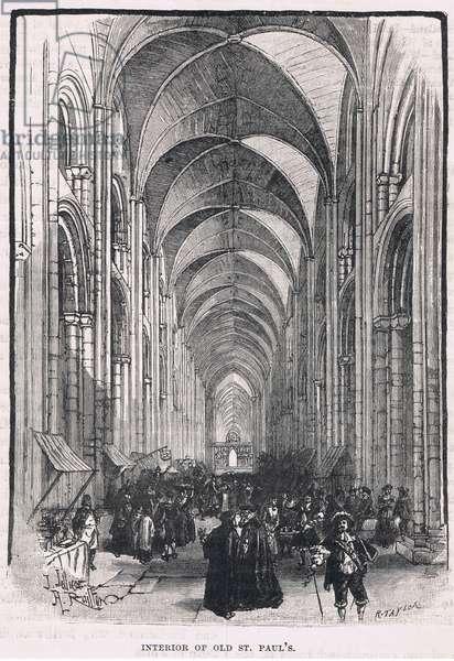 Interiro of St Pauls 1635