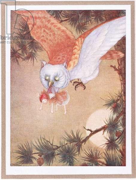 The fairy felt a sharp nip (colour litho)