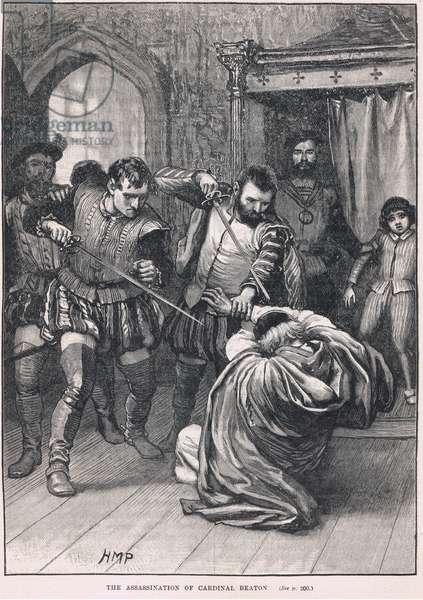 The assassination of Cardinal Beaton 1546