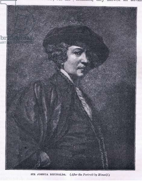 Self portrait (litho)