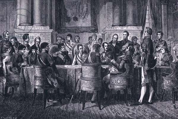 The Congress of Vienna (litho)