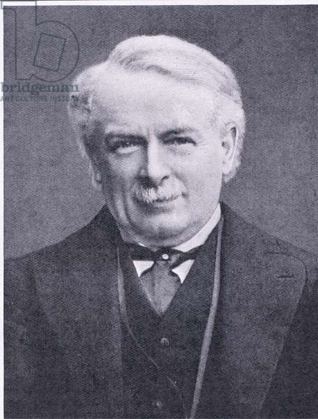 David Lloyd George: Prime Minister of World War I (b/w photo)