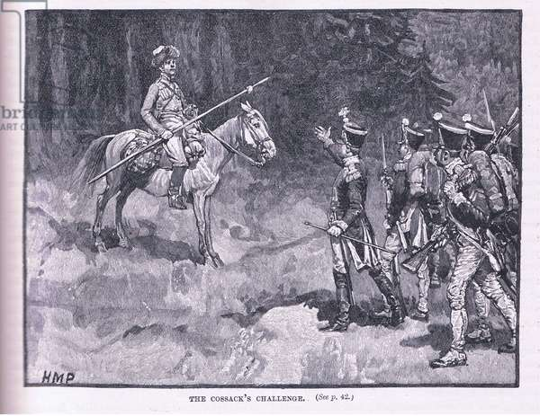 The Cossacks challenge (litho)