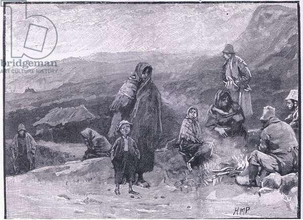 Irish travellers AD 1836 (litho)
