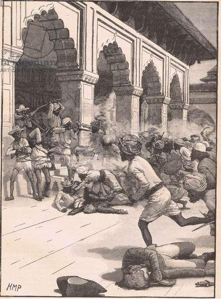 Arrest of the Rajah of Benares AD 1781