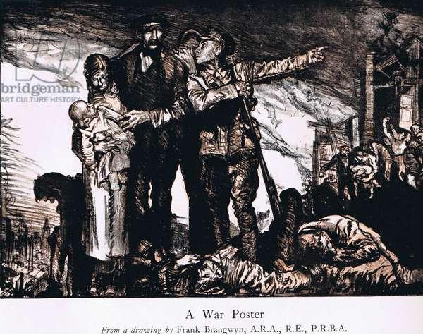 A War Poster, c.1915 (litho)