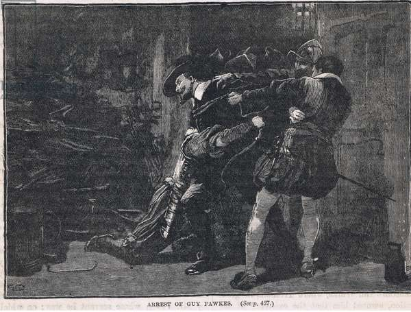 The arrest of Guy Fawkes 1605