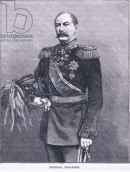 General Todleben (litho)