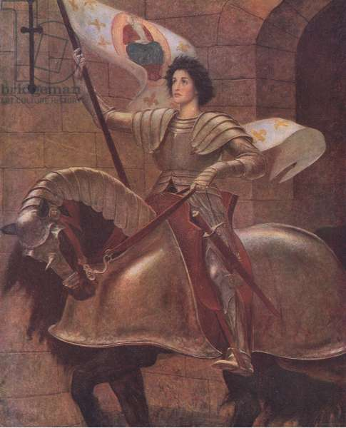 Joan of Arc, Bibbys Annual, 1916-17 (colour litho)