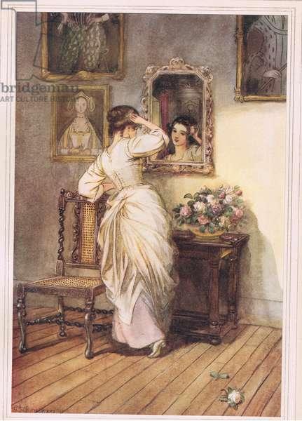 Illuminating.....the dusky mirror