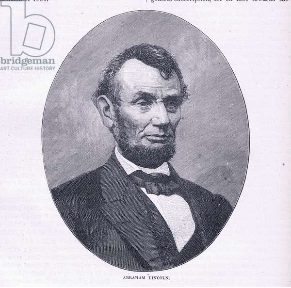 Abraham Lincoln (litho)