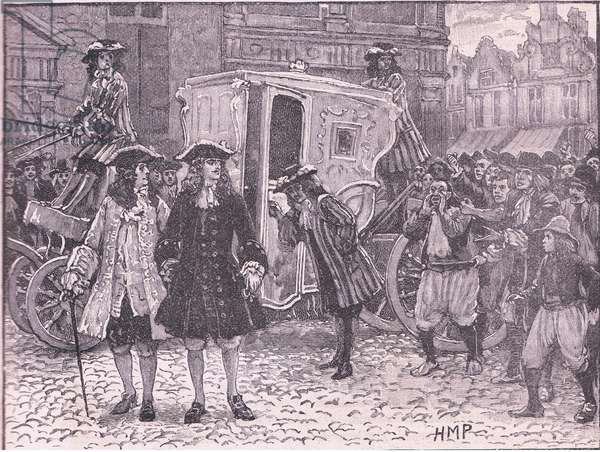 The English Plenipotentiaries insulted in the streets of Utrecht AD 1712