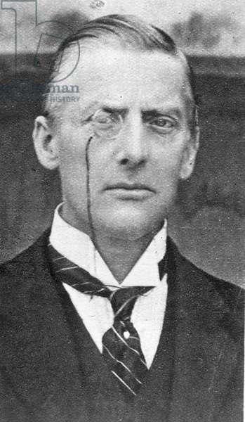 The Rt Hon Austen Chamberlain M.P. (1863-1937) from 'The Illustrated London News', 16th November 1918 (b&w photo)