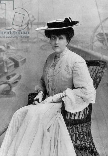 Alice Keppel, 1906 (b/w photo)
