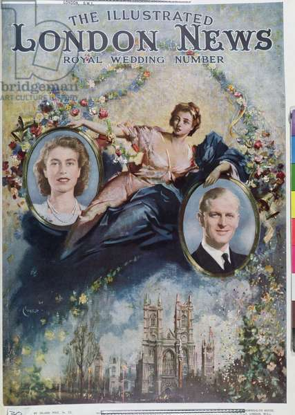 Front Cover of November 1947, Royal Wedding Issue