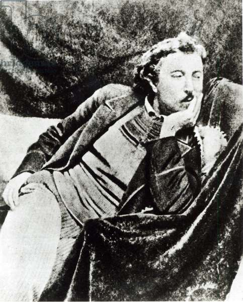Paul Gauguin (1848-1903) (b/w photo)