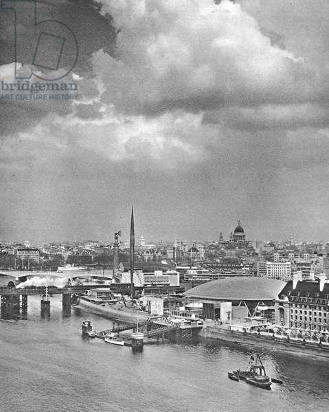 Southbank, 1951 (b/w photo)