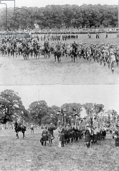 'Be Prepared!' The Rally of 40 000 Scouts before the King, from 'The Illustrated London News', 8th July 1911 (b&w photo)