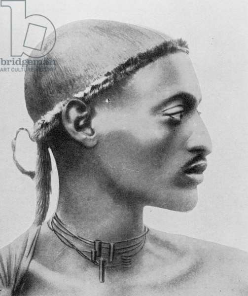 Portrait of Sultan Kissikerobo, from 'The Sphere', 2nd August 1930 (b&w photo)