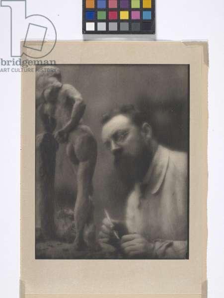 Henri Matisse (photogravure hinged to paper mount)