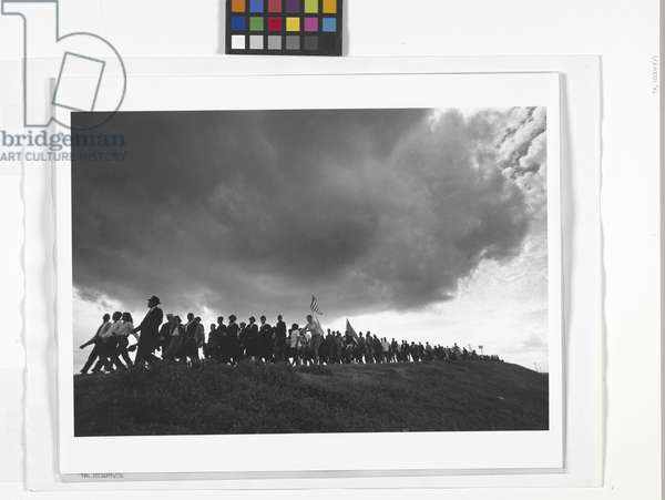 Selma To Montgomery March (Clouds) (gelatin silver print)