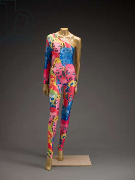 Cat suit, 1991 (silk)