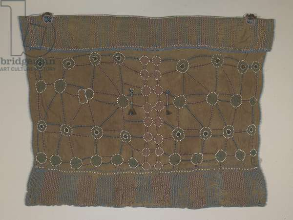 Skirt, Xhosa people, South Africa (cotton, beads, horn & metal bangles)
