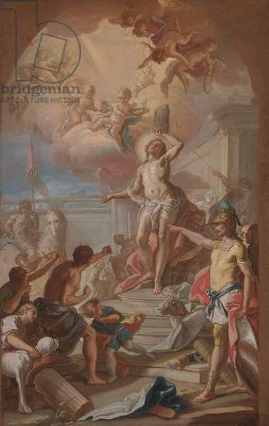 The Martyrdom of St. Sebastian, c.1780 (oil on canvas)