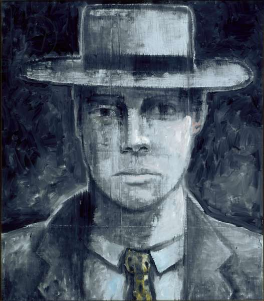 Portrait in Blue, or Blue Portrait, 1983 (oil on canvas)